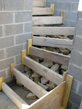 j028 coffrage des escaliers qatsite 20 - Construction Escalier Beton Interieur